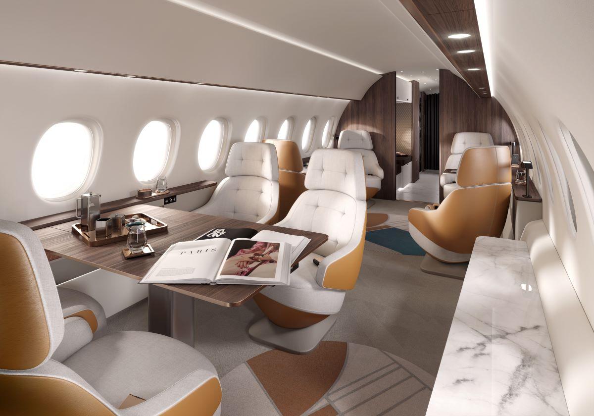 Dassault presenta Falcon 10X, el mejor jet negocios de largo alcance