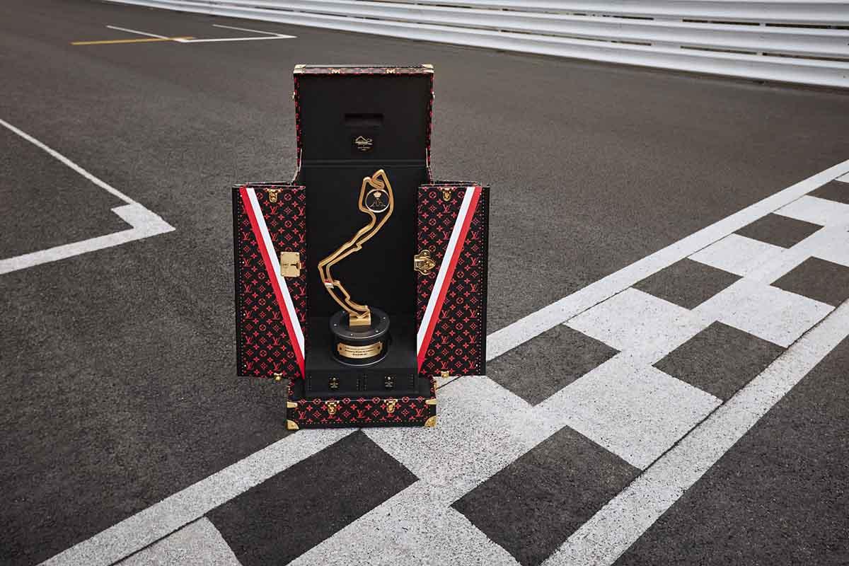 baul formula 1 Louis Vuitton