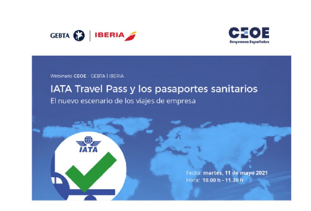 Webinar IATA travelll pass y los pasaportes sanitarios