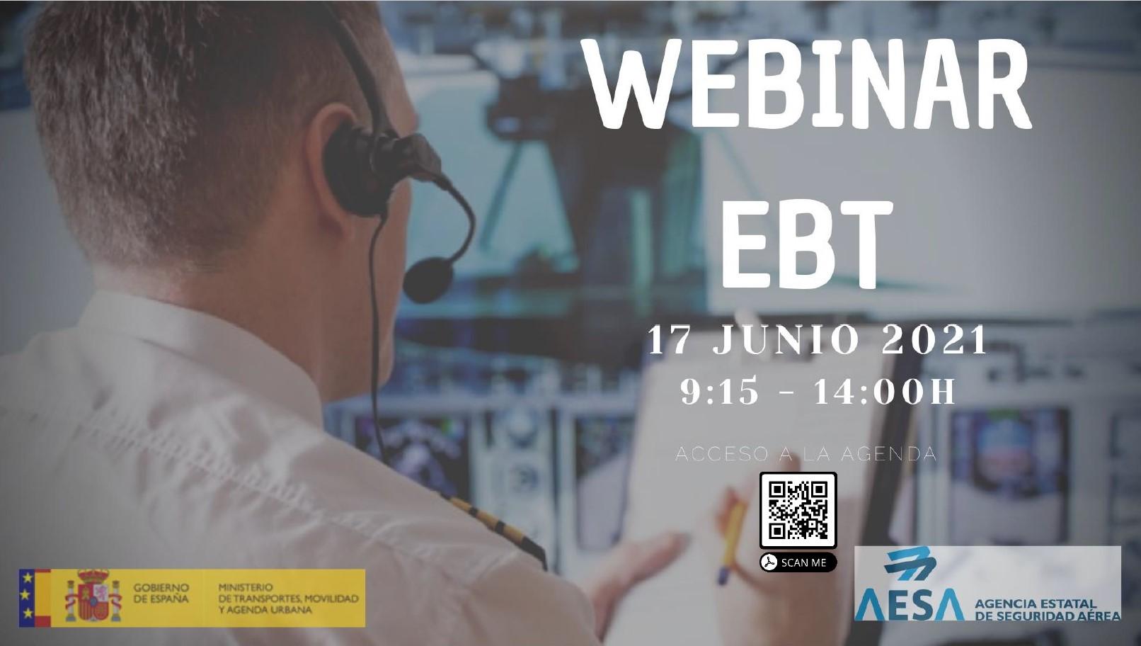 AESA organiza Jornada online sobre el Programa de Entrenamiento de Pilotos basado en Evidencias (EBT)