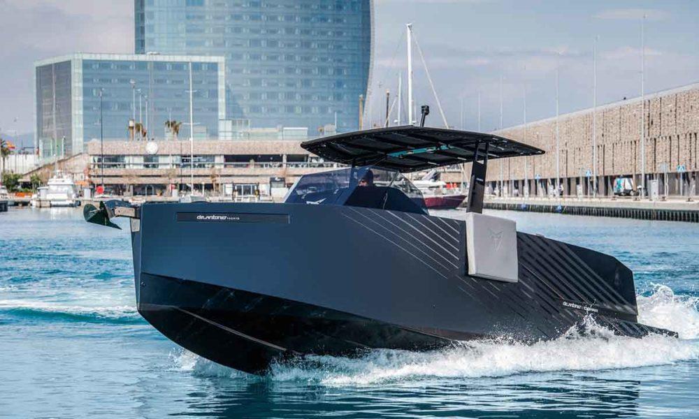El icónico CUPRA salta a los mares con Antonio Yachts