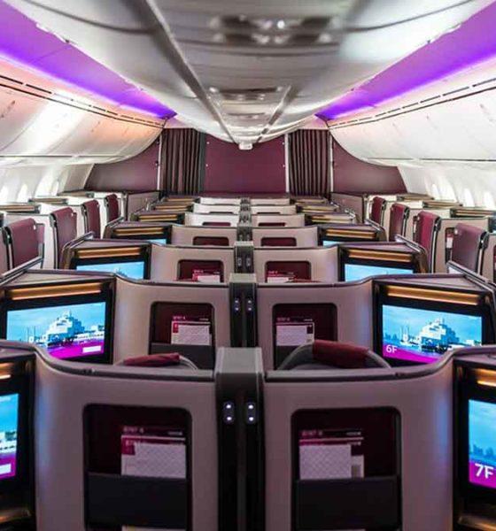 Diseño y comodidad de la suite ejecutiva del 787-9 Dreamliner Qatar Airways