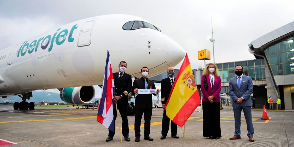 Madrid cuenta con una nueva ruta directa con San José de Costa Rica de la mano de Iberojet