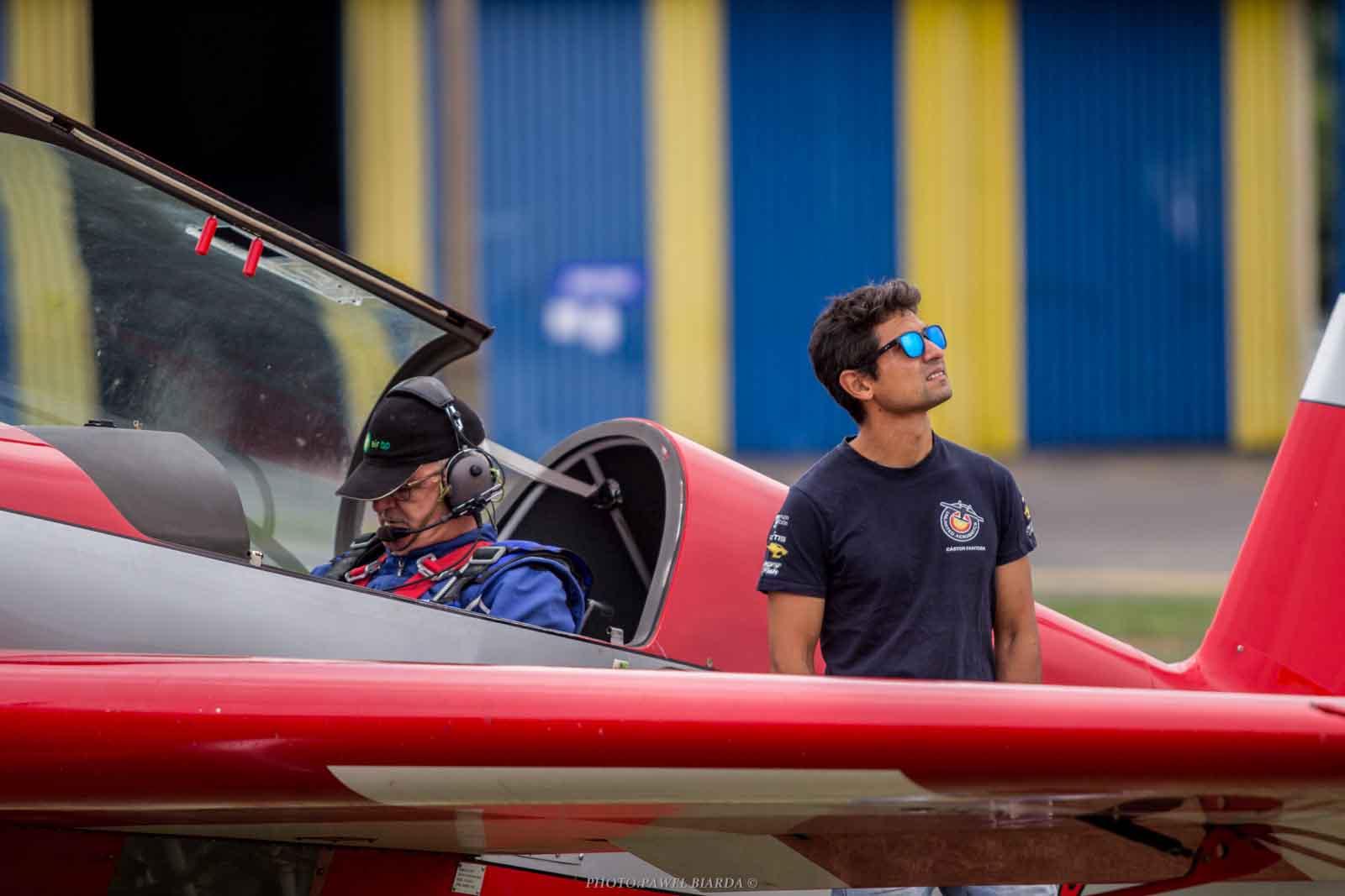 Buen papel de los pilotos españoles en el Campeonato mundial de vuelo acrobático avanzado