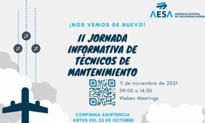 II Jornada Informativa online para Técnicos de Mantenimiento