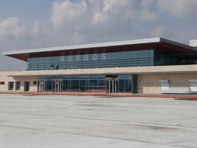 El aeropuerto de Burgos, sin vuelos comerciales a partir del 18 de diciembre