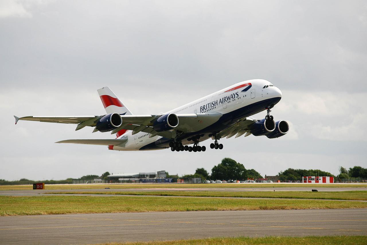 Los Airbus A380 de British Airways levantan el vuelo este invierno con conexiones con EEUU y Dubai